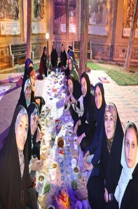 افطاری دانشجویان- رمضان97